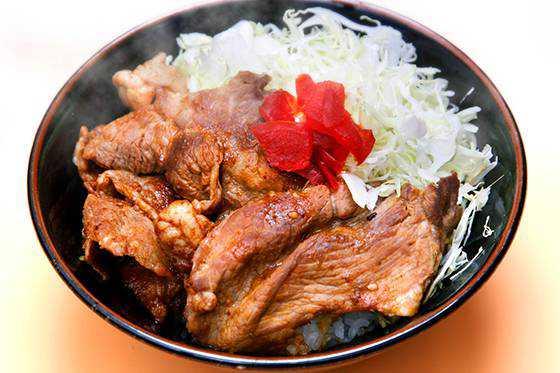 焼肉丼(千代幻豚)
