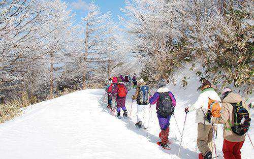 ヘブンスそのはらの富士見台高原スノーシュー