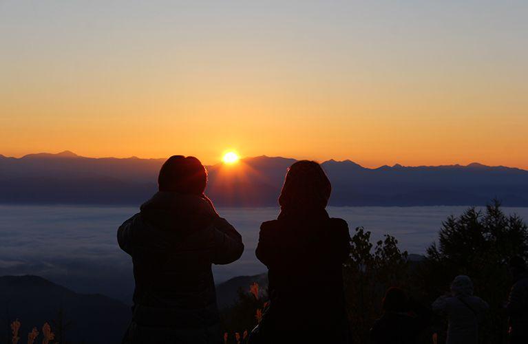 富士見台高原の雲海