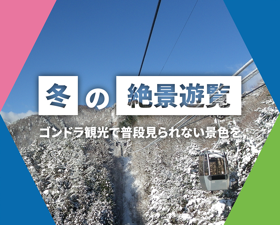 冬の絶景遊覧
