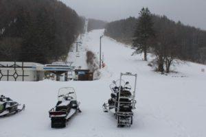 新雪ですよ!!