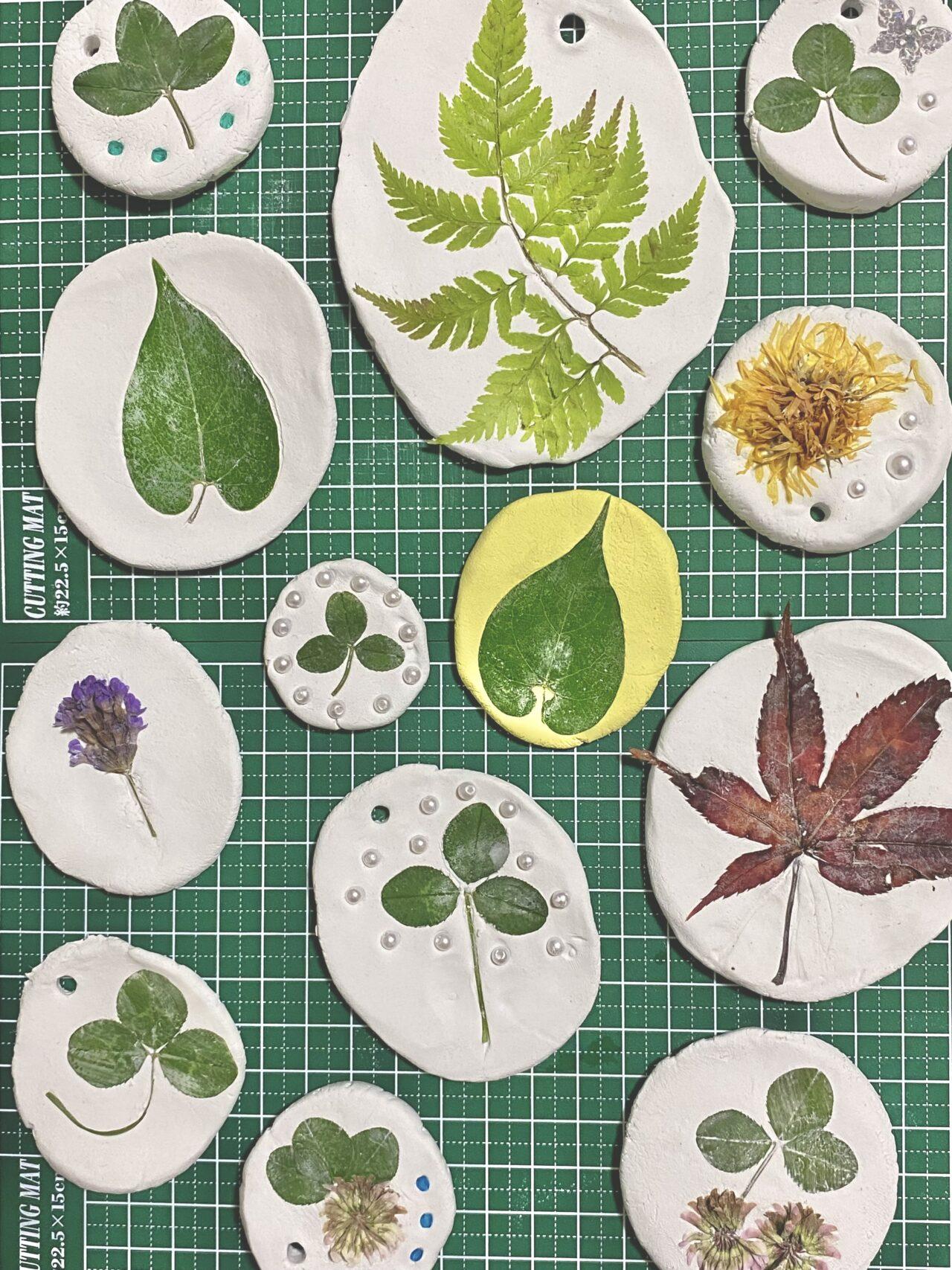 夏のキッズイベント第2弾 「紙粘土に自然を詰め込もう!」